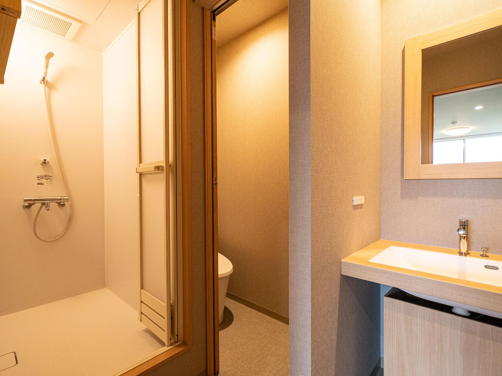 洗面所/トイレ/シャワールーム
